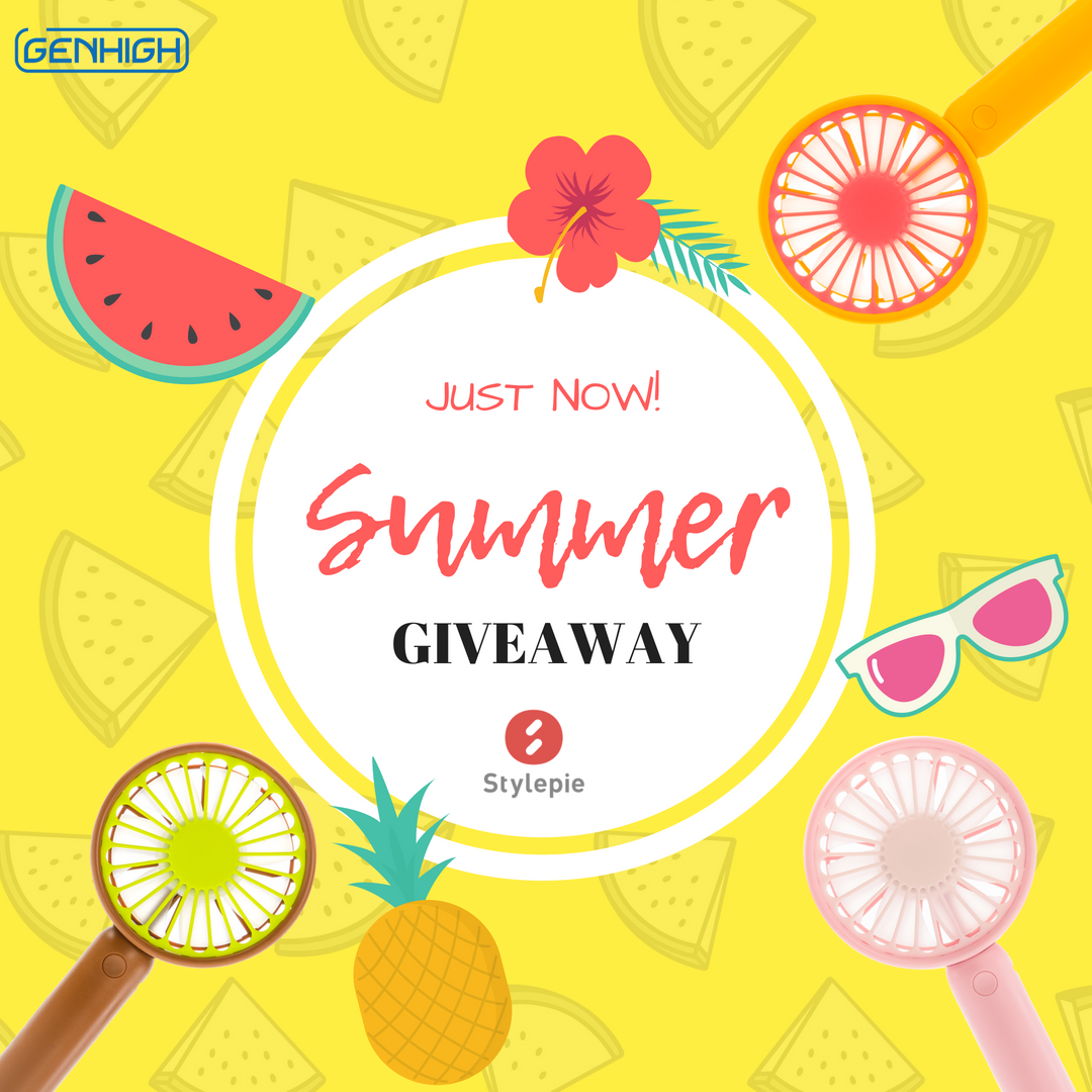Stylepie Pocket Fruit Fan Summer Giveaway!
