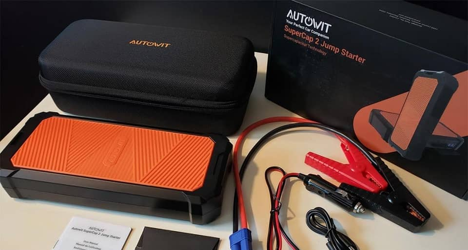 In Depth Review of the Autowit SuperCap 2 Portable Jump Starter