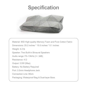 Pilo Classic Smart Music Pillow sleep better