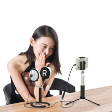 Scenes Lifelike VR Recording Earphone Stand