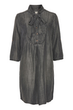 Luna Denim Shirt Dress