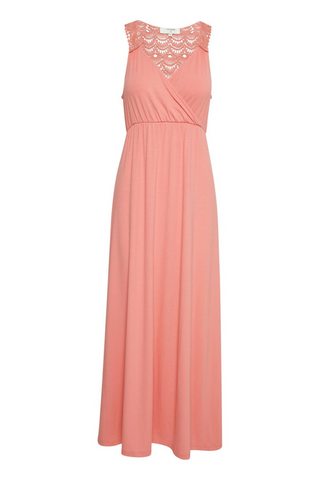 Bella Dress Bright Coral