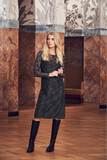 Fie Lace Dress Iron Gray