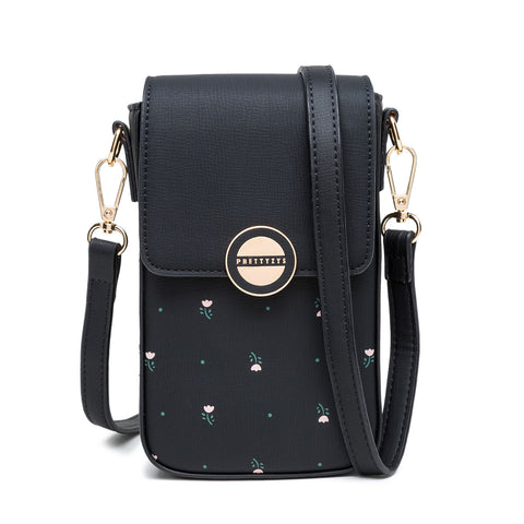 Cross Body -Laukku Musta L036