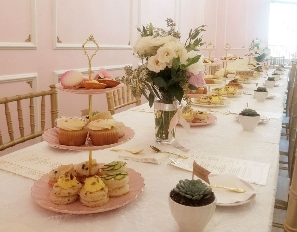 rose blanc tea room is a great place for a baby shower venue in los angeles its newest popular tea room in los angeles ca the aesthetic of this place
