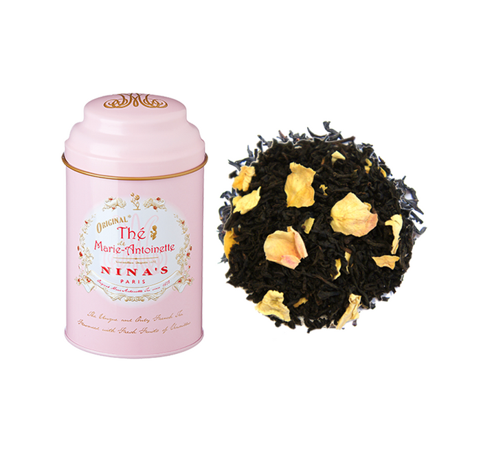 Nina's Paris - Marie Antoinette (Black tea with rose, apple) - Tin of Loose Tea 100g
