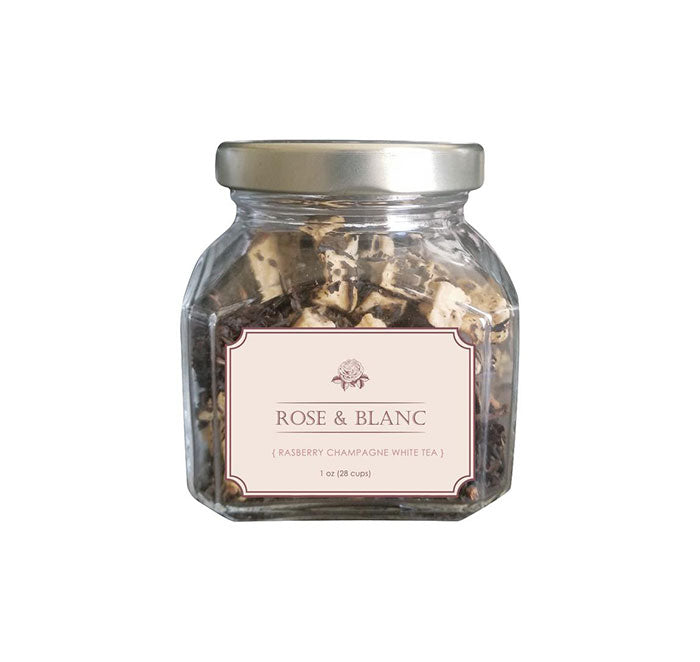 Rose & Blanc - Raspberry Champaigne -Loose Tea 2 oz