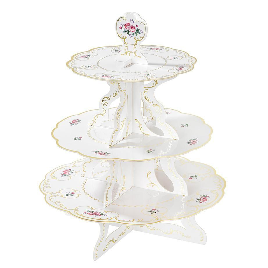 Pastel Cake Stand 1pc (Add to Your Tea Set)
