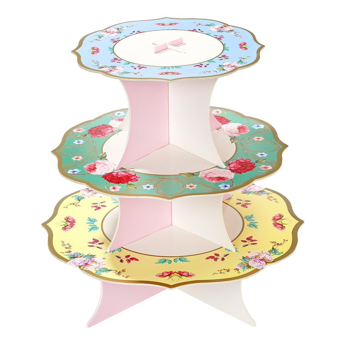 Flower Double-sided Cake Stand 1pc (Add to Your Tea Set)