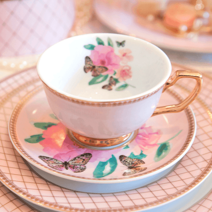 Teacup Butterfly Garden Tea Cup Cristina Re