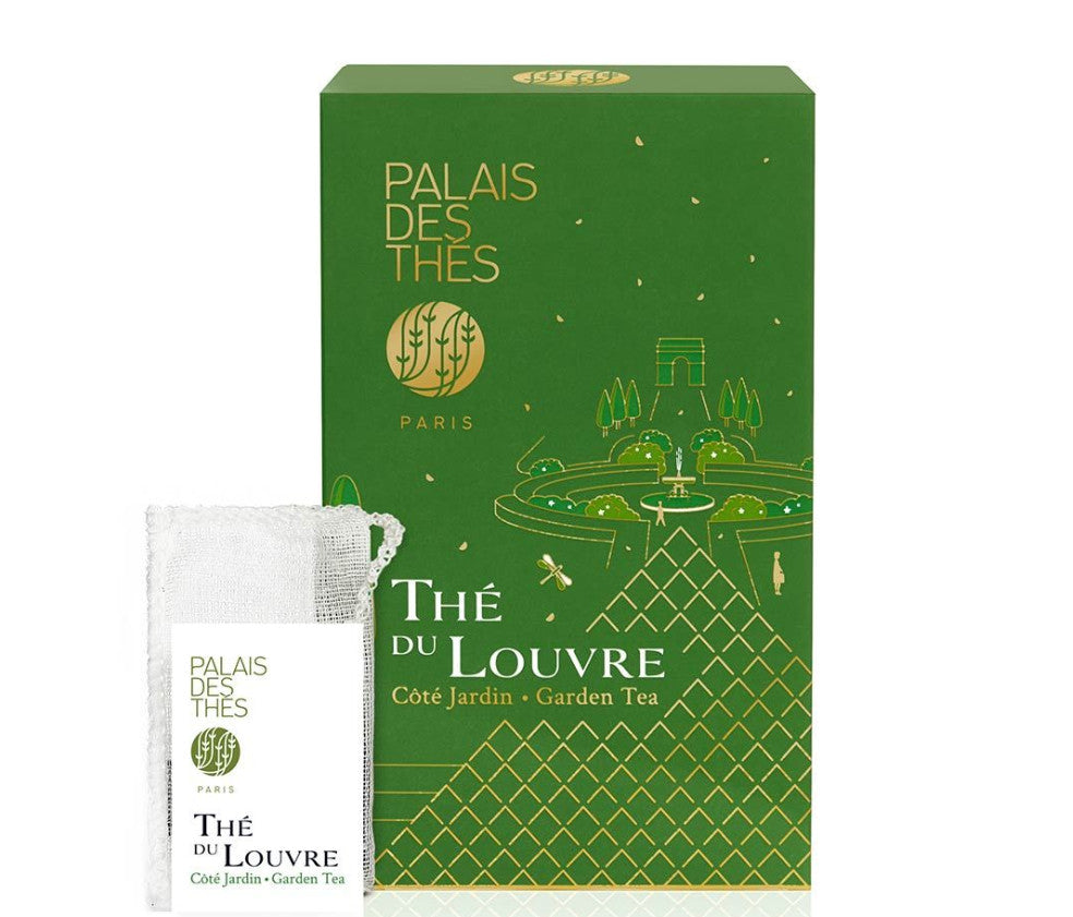 the du louvre Garden green tea