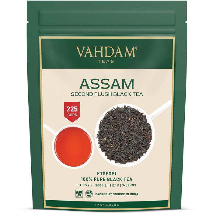 vahdam tea Assam Black Tea