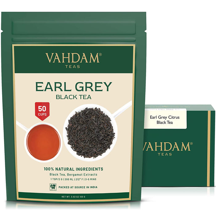 vahdam tea earl grey tea