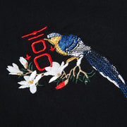 Birds & Trees Embroidered T-shirt