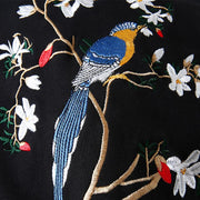 Birds & Trees Embroidered Sukajan Hoodie