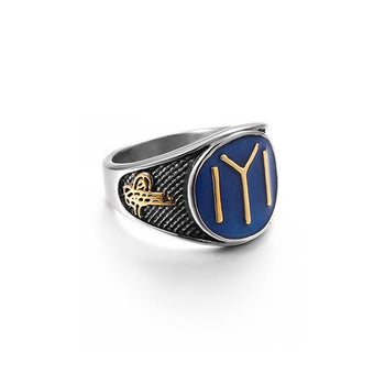 Blue Splendor Ring