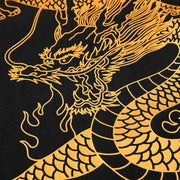 Golden Dragon Foil Printing T-shirt