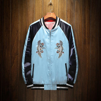 Mountain & Tiger Souvenir Jacket [Reversible]