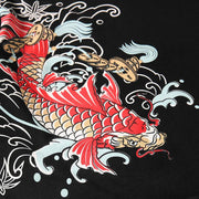 Red Koi Painted T-shirt