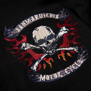 Ghost Rider Embroidered Sukajan Hoodie