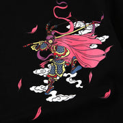 Sun Wukong Embroidery T-shirt