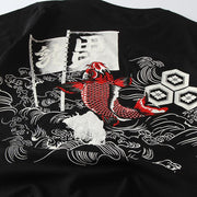 Red Carp Painted T-shirt
