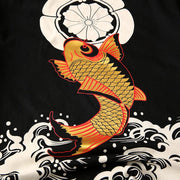 The Golden Koi Painted T-shirt