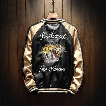 The Tigers Sukajan Souvenir Jacket