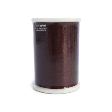 Silk Thread, 110m, 117 Dark Brown