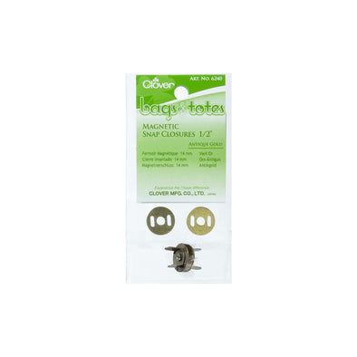 "Clover Bags & Totes Magnetic Snap Closures 1/2""(14mm)"