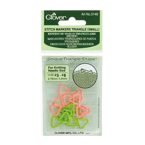Clover Stitch Markers Triangle