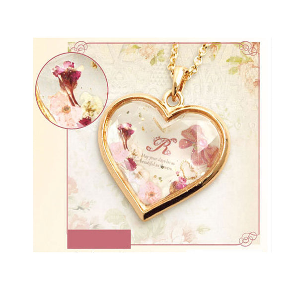 Pink Heart Jewellery Accessory (UV Resin Craft)
