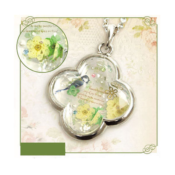 Spring Clover Jewellery Accessory (UV Resin Craft)
