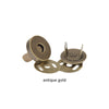 "Clover Bags & Totes Magnetic Snap Closures 3/4""(18mm)"