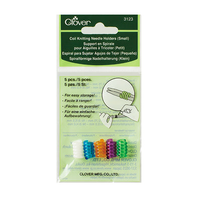 Clover Coil Knitting Needle Holders (Small)