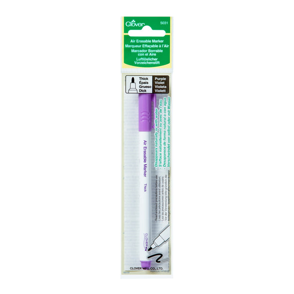 Clover Air Erasable Marker (Purple Thick)