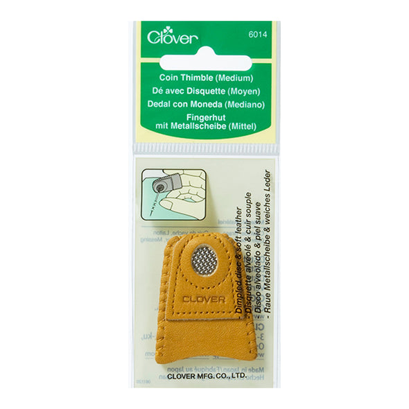 Clover Coin Thimble (Medium)