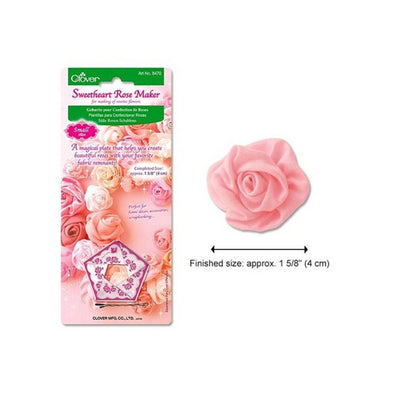 Clover Sweet Heart Rose Maker
