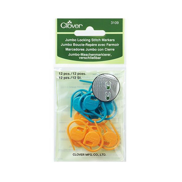 Clover Jumbo Locking Stitch Markers