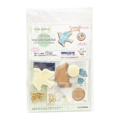 DOVE ICING COOKIE CHARM RESIN CRAFT KIT