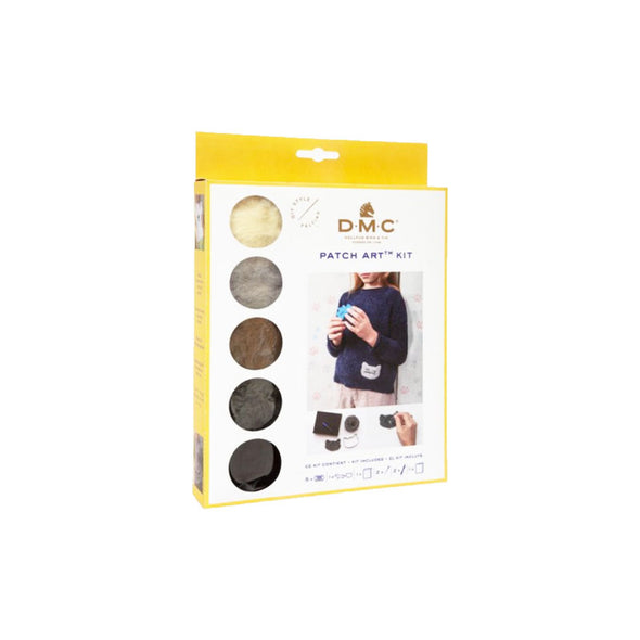 DMC Patch Art Needle Felting Kit-Pet Collection