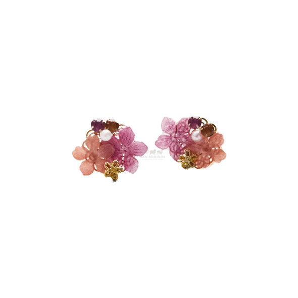 Flower Bijoux Earrings UV Resin Craft Kit