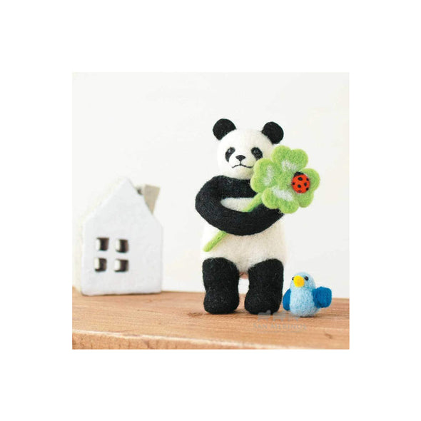 Panda Clover and Little Bird Kit