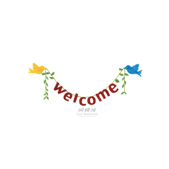 Welcome Felt Kit