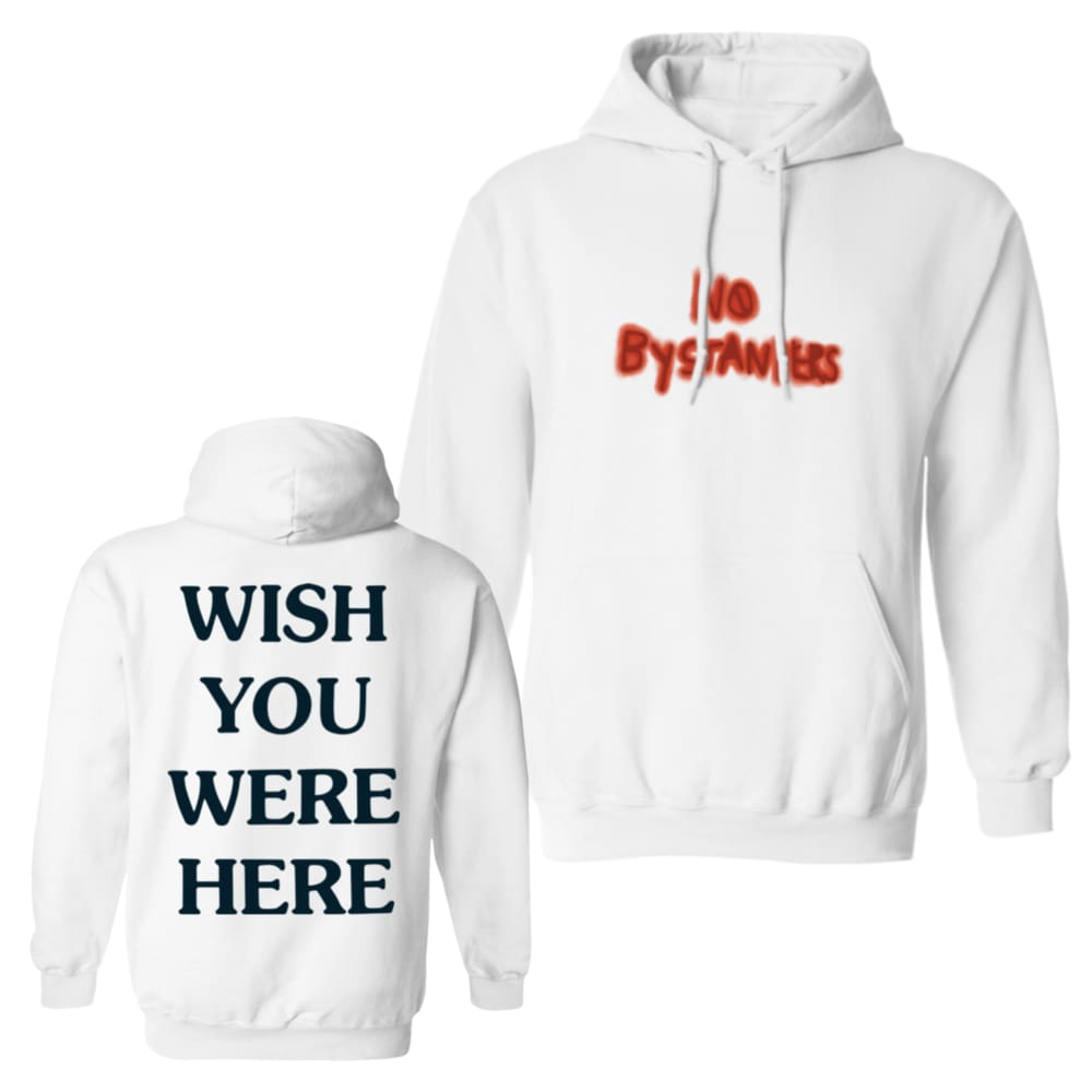 f23012a2f Astroworld No Bystanders Hoodie - White / S