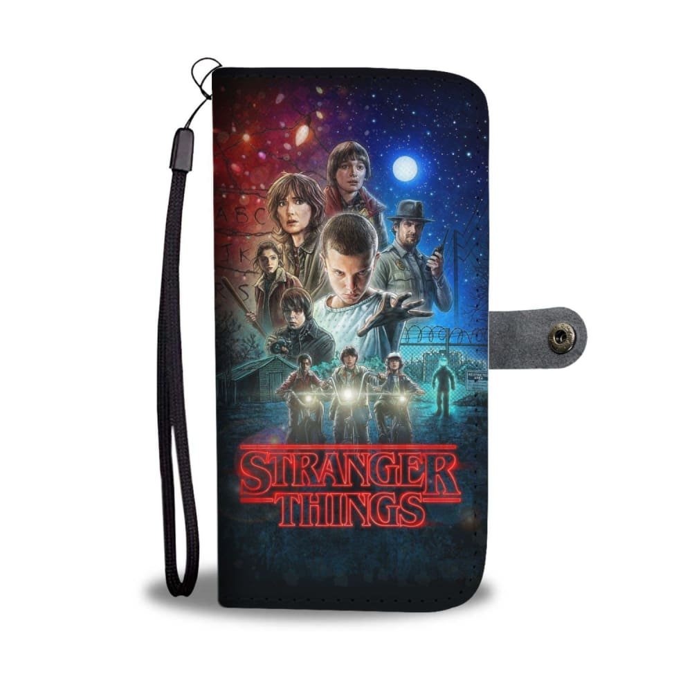 Stranger Things Phone Wallet Case - LIMITED EDITION - Hatvat ad6a7b8d6777