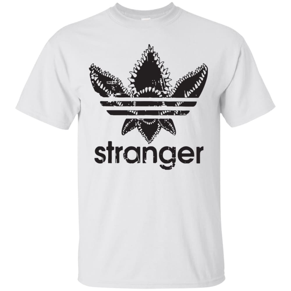 766788665898 Unisex Stranger Things - Adidas T-Shirt White   Small T-Shirts