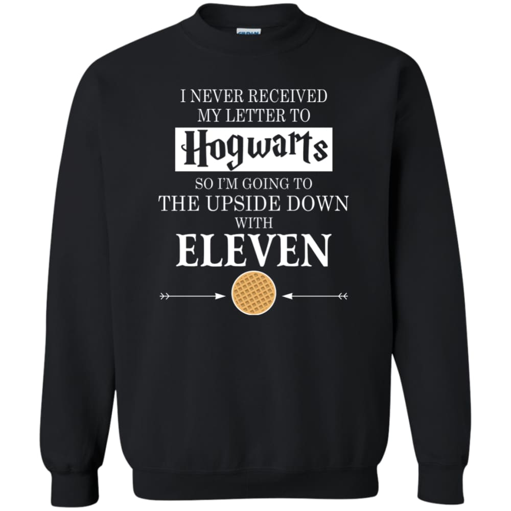 Unisex Stranger Things - Hogwarts Vs Upside Down Sweatshirt (Limited Edition)  Black   S d02eee9f96fa
