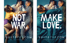 Make Love Not War Campagne SUITE702