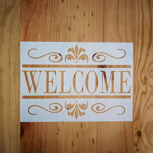 ST-0005 A4 Welcome